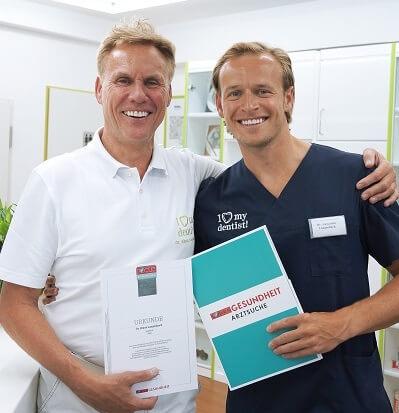 PRaxis Köln Focus auszeichnung 1 Zahnarzt Köln